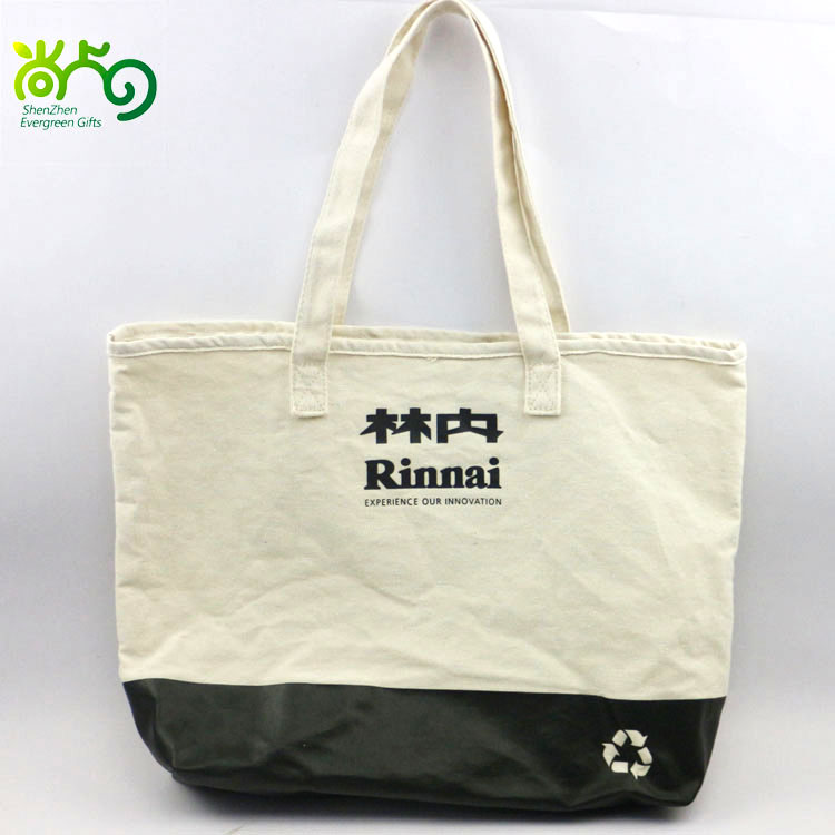 Simple shopping bag canvas sling bag for promotional