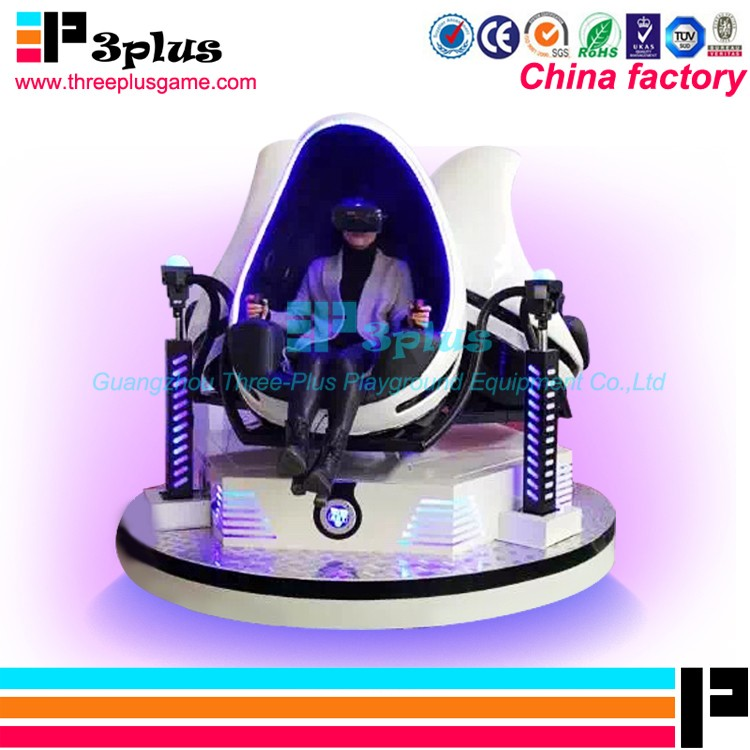 Hot sale egg virtual reality simulator amusement park ride 9d vr cinema theater equipment for sale