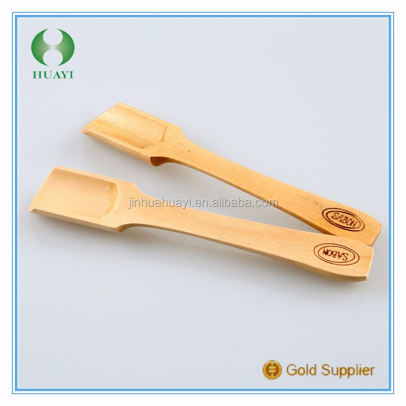 wholesale engrave logo custom mini wooden spoon