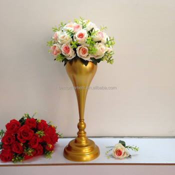 Golden Wedding Centerpieces.Metal Golden Wedding Flower Vase Gold Table Stand For Wedding Centerpiece Buy Wedding Centerpiece And Flower Stand Wedding Metal Tall Table