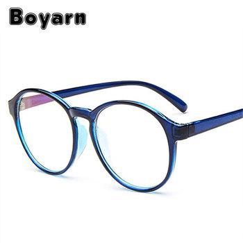 8800384029e Boyarn Frames For Myopia Eye Glasses Vintage Spectacle Colorful Frames  Optical Round Eyeglasses Frame Fashion Glasses