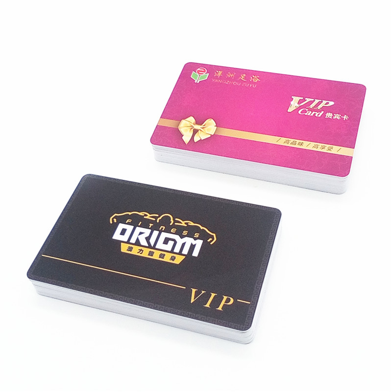 Cheap inkjet plastic PVC VIP membership card for thermal printer