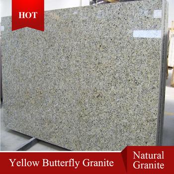 Chinese Erfly Beige Granite Countertops Yellow