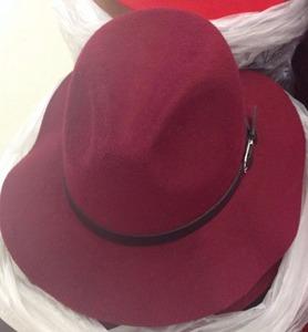 fe5ba9e79ba Men Wool Felt Floppy Hat