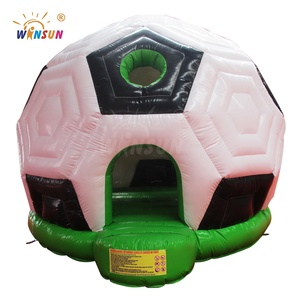 Inflatable Football Shape Baby Bouncer, mini jumping bouncer