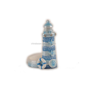 Lighthouse design home decoration candlestick