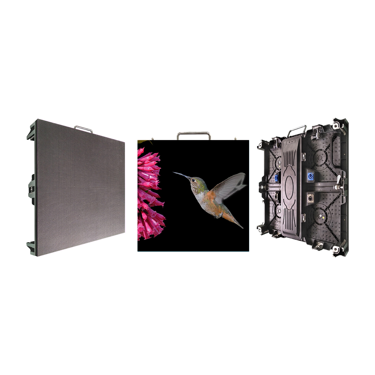 HCM 3 year warranty P3.91 indoor rental advertising panel screen stage background led display