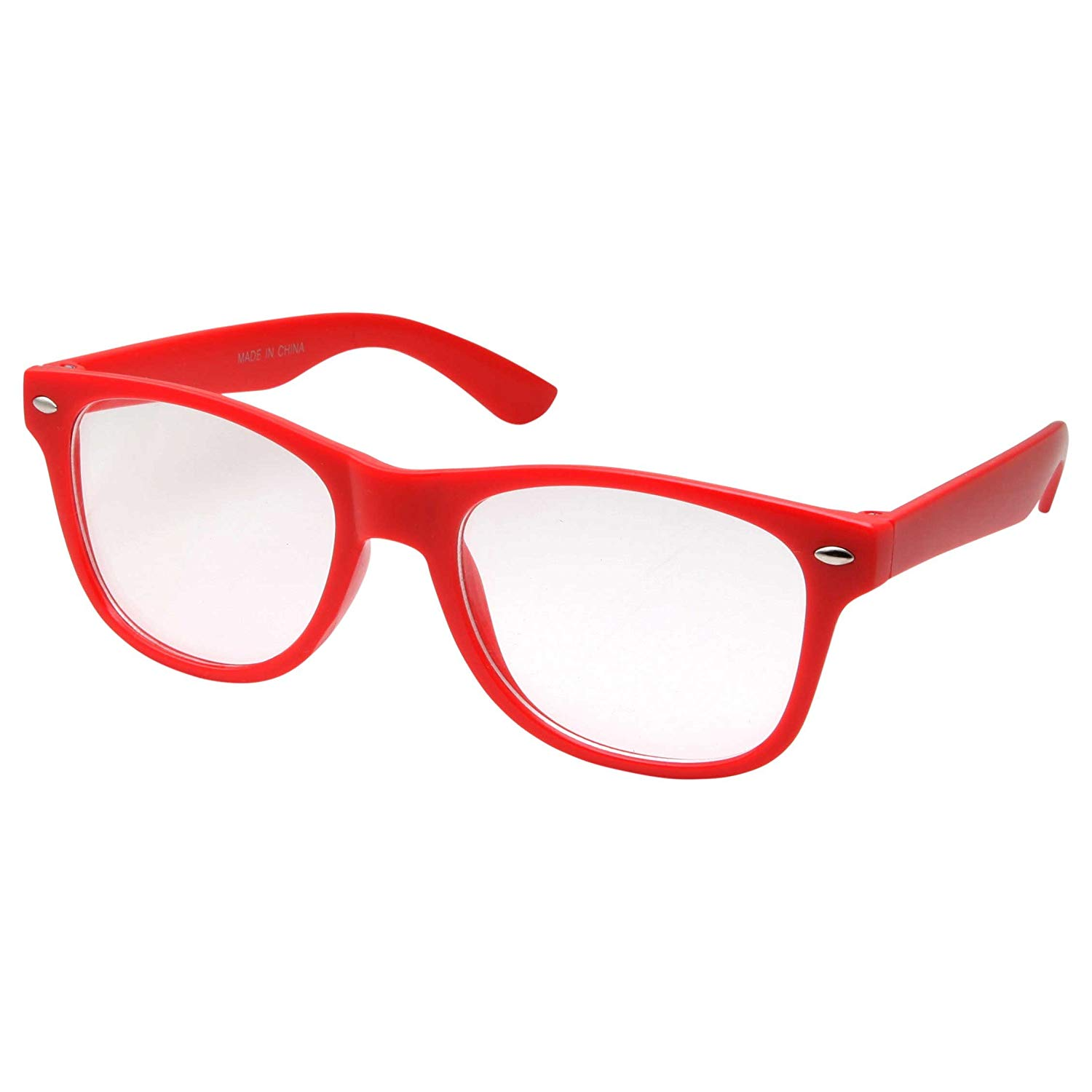 87ecbc5057 Get Quotations · Kids Nerd Glasses Clear Lens Geek Fake for Costume  Children s (Age ...