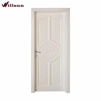 Modern Jenis Utama Kayu Pintu Cat Rumah Warna Putih Murni
