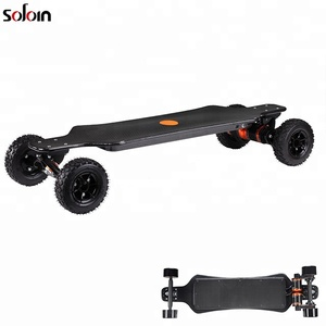 Off road Carbon fiber Dual Motor 4 wheel longboard 3000W electric Skateboard