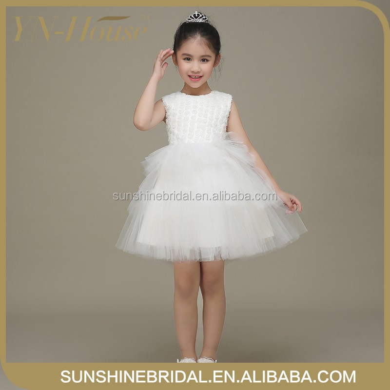 Designer Flower Girl Party Dress Baby Holiday Dress Baby Girl Party Wear