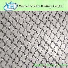 Stocklot Metalized Polyester Fabric with silver yarn