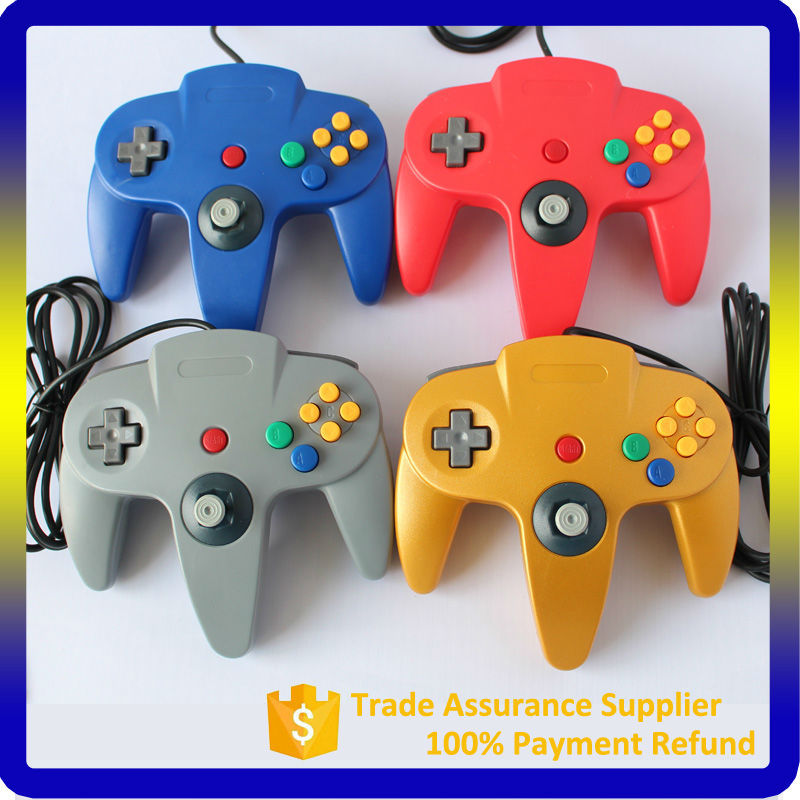 USB Game Controller for PC Fighting Game for Nintendo 64 PC Controller