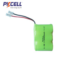 Ni-mh rechargeable battery pack nimh 2/3aa 3.6v 600mah ni mh battery