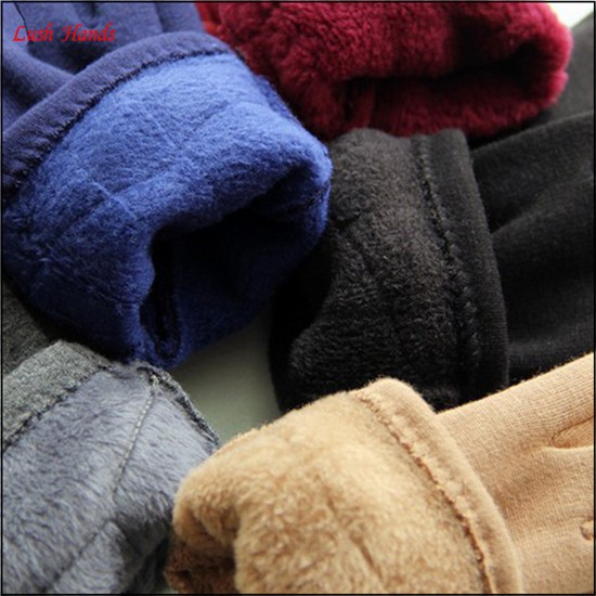 top selling high-quality ladies lovely winter woolen gloves