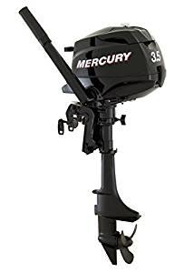 """Mercury 3.5 HP 4 Stroke Outboard Motor Tiller 15"""" Shaft Boat Engine"""