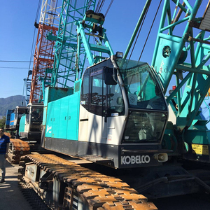 KOBELCO original japanese location in japan 100ton crawler crane