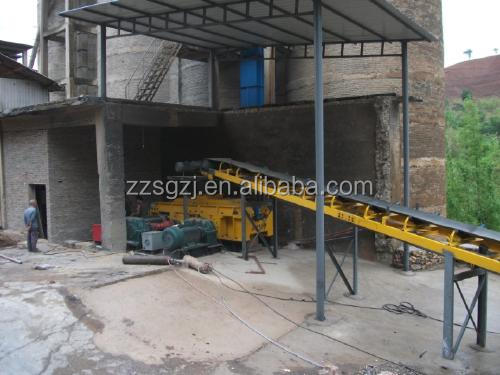 Industrial roll mill crusher, double roller coal crusher for mining