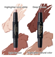 High Quality Double-end Concealer & Highlight Contour Trim Cosmetic Makeup Stick