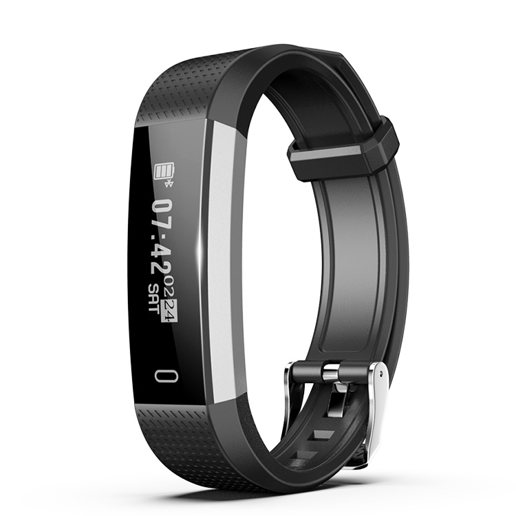 2018 Waterproof Color Screen ID115 Smart Bracelet Sport Smart Wristband Fitness/Heart Rate Monitor Smart Watch With USB