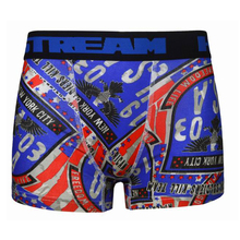 Man transfer print boxer <span class=keywords><strong>ondergoed</strong></span> mannen comfortabele ultradunne onder shorts