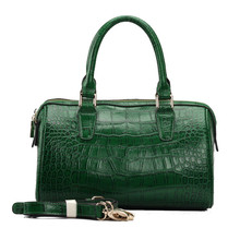 S461-A2383 green crocodile leather bag korea handbag designer handbag 2015 wayuu mochila woman bags national brand bag OEM