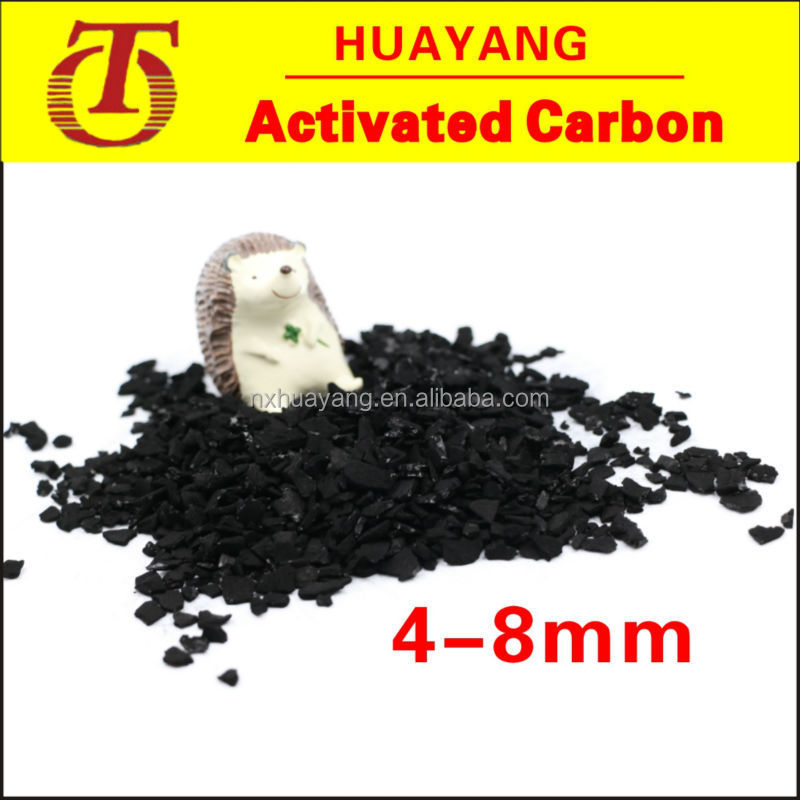 4-8mm Granular Coconut Activated Carbon (cac) For Used For Food ...