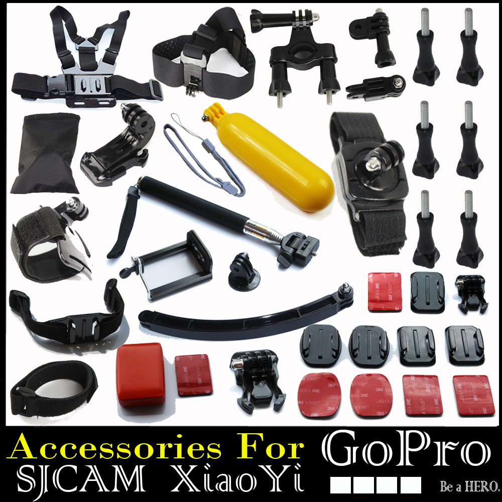 Go Pro Hero 3 Black Edition Gopro Acessorios Monopod Bobber Chest Helmet Wifi