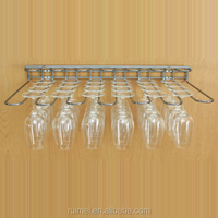 Chrome plating Wine Glass Hanging Rack