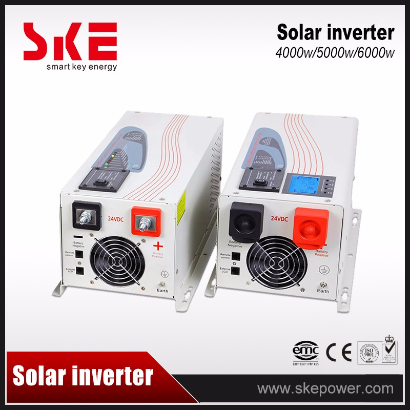 5kw solar pure sine wave inverter without battery
