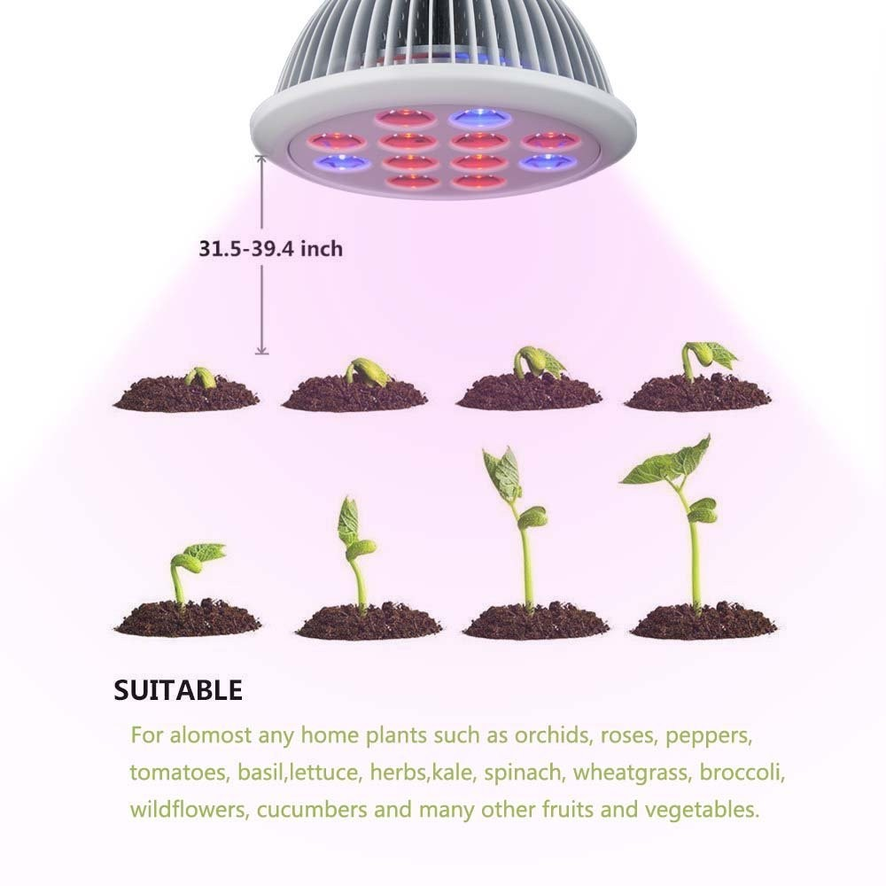 2016 Amazon Hot Sale New Product 24w Led Grow Light Red 630nm ...