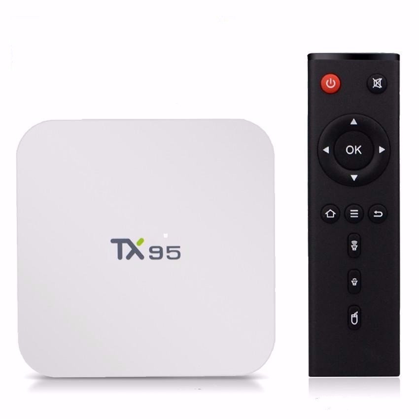 Accept Paypal Amlogic S905X android tv box TX95 with BT Ram 2gb Rom 16gb TX95 google tv box