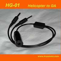 Aviation Headset Adapter for Helicopter (Nexus plug)