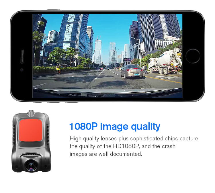 2.7 inch full hd 1080p night vision hidden wifi car camera for cars