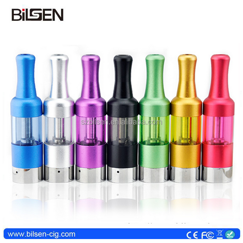 2015 comercio al por mayor vaporizador bobina simple mini atomizador 0.8 ml alumium dt6 meth vaporizador