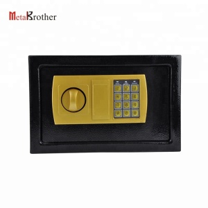 Stainless steel single door design home safe digital gun safe