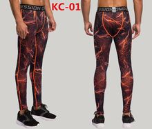 Running Tights Men Milk Fiber Fitness Compression Pants Exercise Quick-Drying wholesale leggings sport fitness