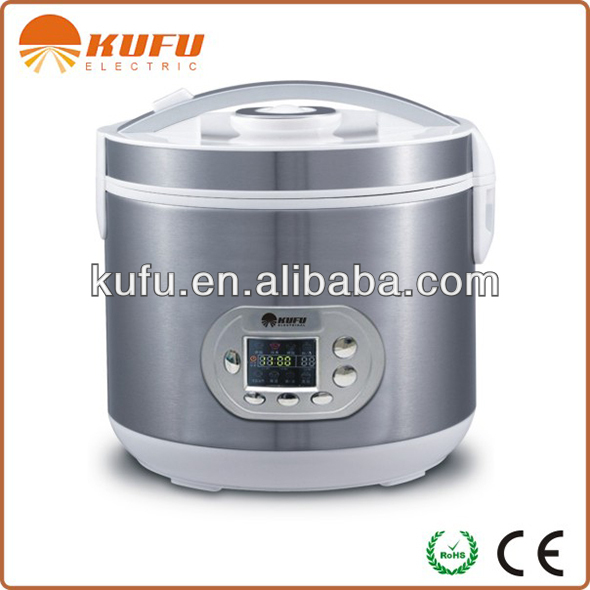 KF-B1 8 in 1 Tinplate Housing Big Rice Cooker with CE ROHS