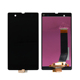 Full LCD For Sony Xperia z LCD Touch Screen Digitizer Assembly+Frame