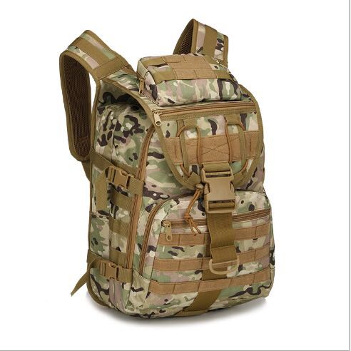 A18 36-55L high density waterproof Military tactical backpack hiking camping and assault backpack 45X31X18CM climbing backpack