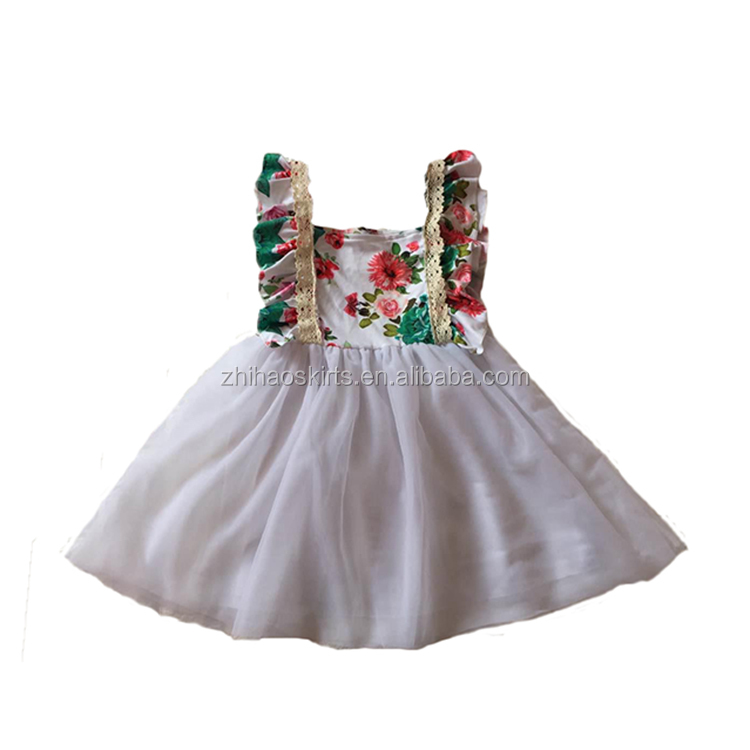 Latest frock design for baby white tutu dress kids casual children frocks designs