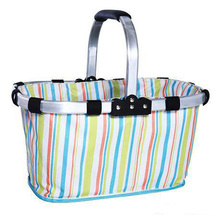 2014 cheap printed nylon foldable shopping bags guangzhou manufacturer made in china