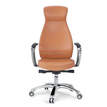 Foshan wonderful hot sale leather low back office chair