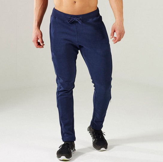 Gym Lunar Reflecterende Tapered Bottoms, Secure Zip Pockets joggers gemonteerd, 100% Vocht Polyester broek