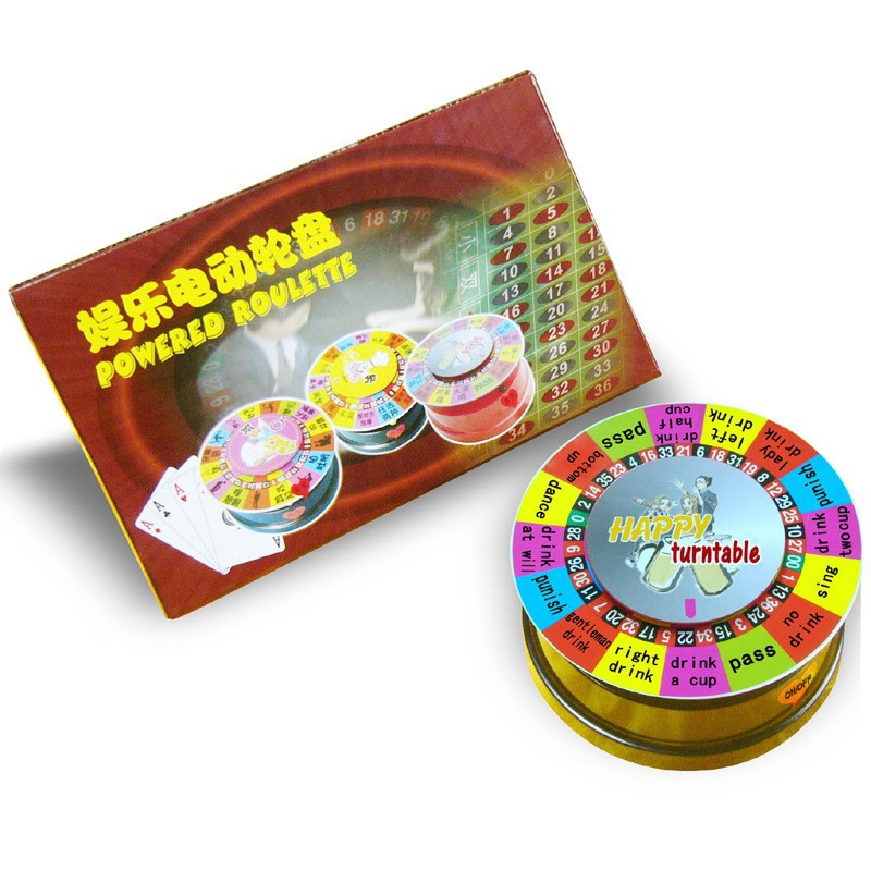 Mini Toy Electronic Roulette Wheel Machine te koop