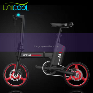 2017 New product city 14 inch folding electric bike/bicycle