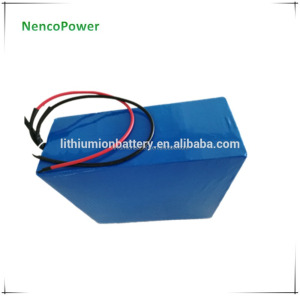 Customized 72V 20Ah 30Ah 40Ah 50Ah 60Ah 4kWh lithium battery pack used in electric boat marine ship