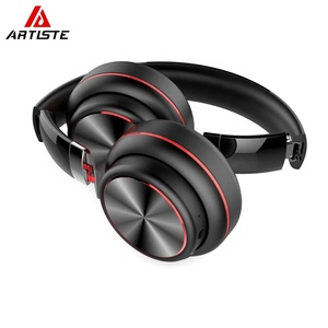 Fashion Cool Gym Exercise Foldable Over Ear Wireless Headphones Bt Headset With Mic