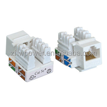 Cat5e Rj45 Keystone Jack For Wall Outlet Patch Panel And Surface Mount Box