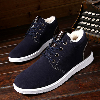Or20711a 벨벳처럼 농축, autumn winter outdoor warm 착용-resisting 전체 사진 English snow man casual shoes